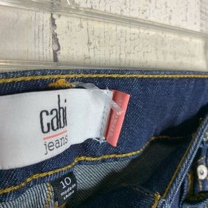 CAbi Jeans - CAbi size 10 jeans the straight blue